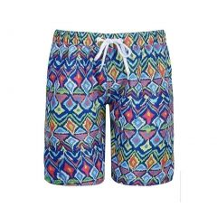 Sun Emporium Baby Boys Multi Color Ikat Sun Protective Board Shorts 6-18M