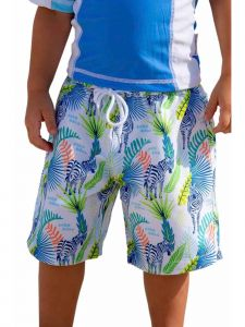 Sun Emporium Baby Boys Jungle Dayz Print Board Shorts 6-18M