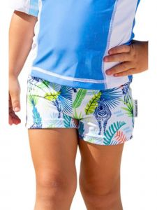 Sun Emporium Baby Boys Jungle Dayz Print Euroleg Shorts 6-18M