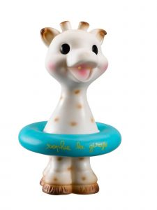 Sophie La Girafe Baby Multi Color Floating Squirting Bath Toy