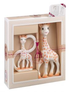 Sophie La Girafe Baby Multi Color Classical Creation Birth Toy Set No 1