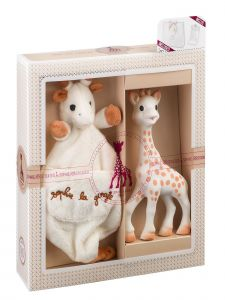 Sophie La Girafe Baby Multi Color Tenderness Creation Birth Toy Set No 1