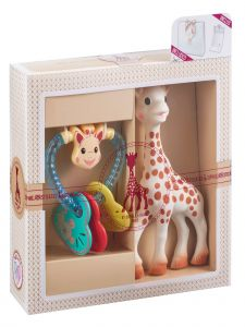 Sophie La Girafe Baby Multi Color Classical Creation Birth Toy Set No 3
