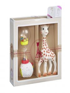 Sophie La Girafe Baby Multi Color Classical Creation Birth Gift Toy Set No 4