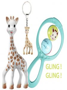 Sophie La Girafe Baby Multi Color First Age Birth Toy Set