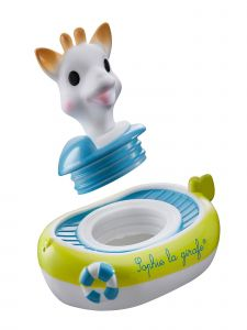 Sophie La Girafe Baby Multi Color SophieS Bathtub Boat Toy