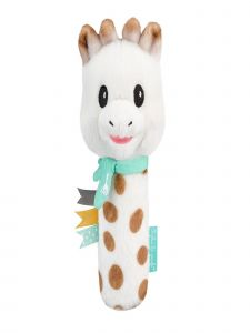 Sophie La Girafe Baby Multi Color Sweetie Pouet Rattle Toy
