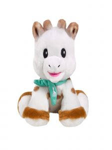 Sophie La Girafe Baby Multi Color Sweetie Baby Sophie Plush 5.5 Inch Toy