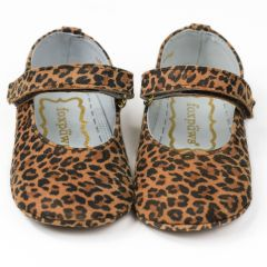 Foxpaws Baby Girls Lalas Leather Baby Girl Soft Sole Flat Shoes 3-5 Baby