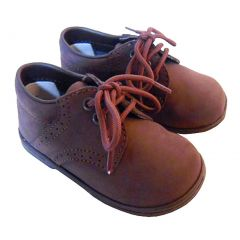 Baby Toddler Boys Brown Classic Saddle Style Dress Shoes Size 1-7