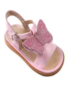 Mooshu Trainers Girls Multi Vanessa Butterfly Squeaky Sandals 3 Baby-9 Toddler