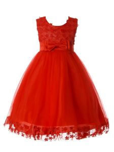 Rain Kids Girls Multi Color Glittered Lace Bodice Special Occasion Dress 12M-8