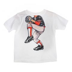 """Unisex Black """"There No Crying In Baseball"""" Print Cotton T-Shirt 6-16"""