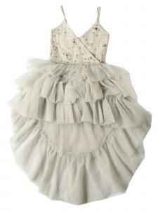 Ooh! La, La! Couture Little Girls Pink Chloe Stars Flower Girl Dress 2T-6