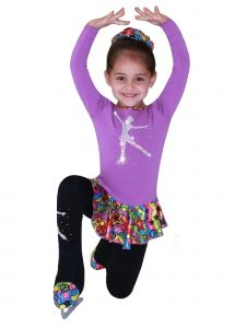 Ice Fire Skating Big Girls Ice Skating 5 Pc Outfit Gift Set 5-12