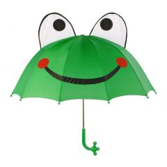 Kidorable Boys Men Green Child Adult Size Lightweight Ears Frog Umbrella