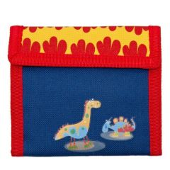 Aquarella Kids Boys Blue Yellow Dynos Wallet