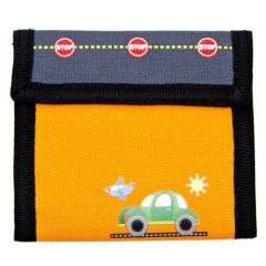 Aquarella Kids Boys Orange Transportation Wallet