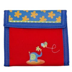 Aquarella Kids Girls Red Blue Zoo Wallet