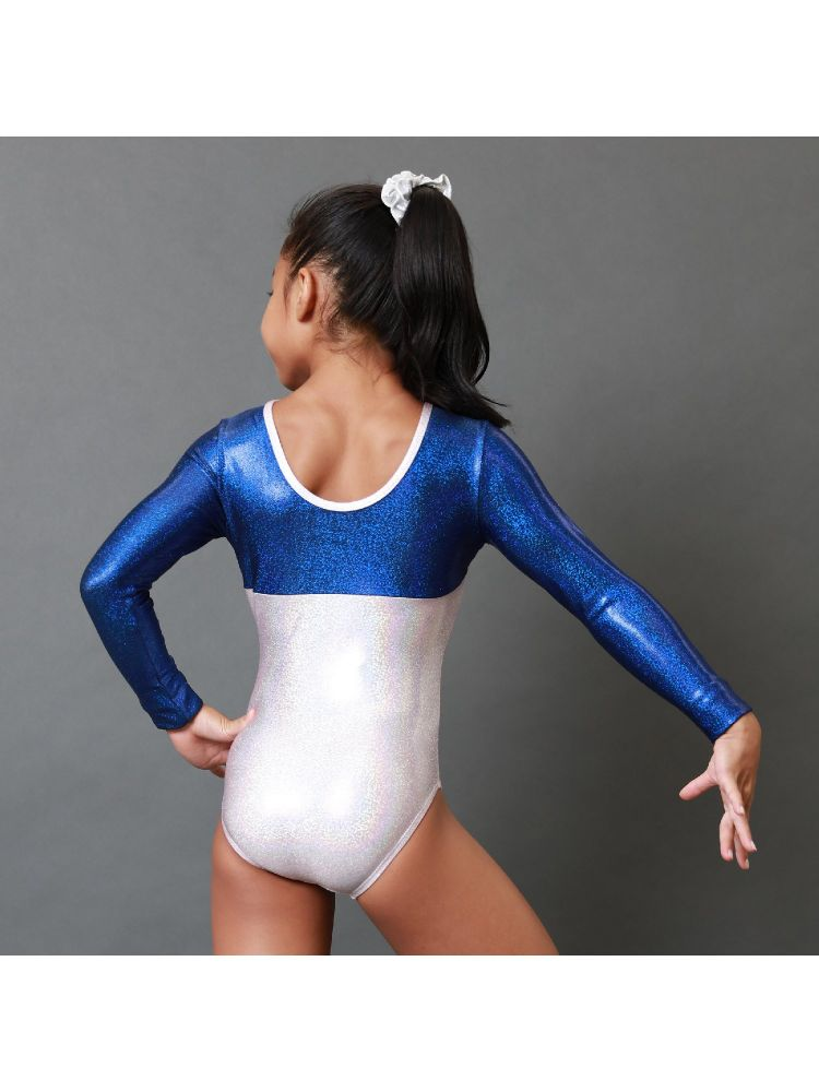 baby size Ready to ship long sleeve gymnastic leotard in light pink mystique 12 months oops