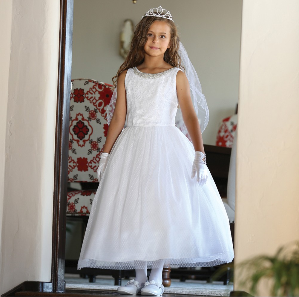 White Communion Dresses for Girls – Fashion dresses